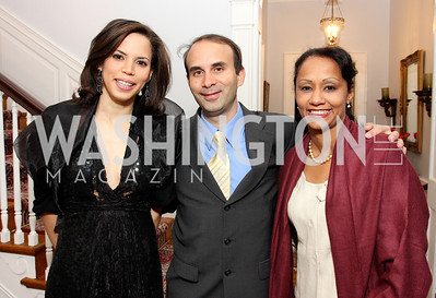 mariel vilchez, hendrik kelner, erica alvarez, Photo by Tony Powell