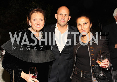 lizette coor, mauricio nesrin, fraga rosenfeld, Photo by Tony Powell