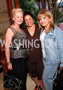 carole margaret randolph; sheila johnson; annie totah, Photo by Tony Powell
