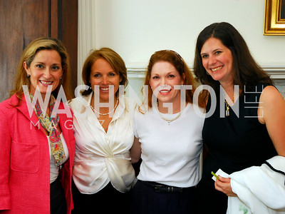 Blair Raber, Katie Couric, Laurie Powers, Mandy Locke  Photo by Kyle Samperton
