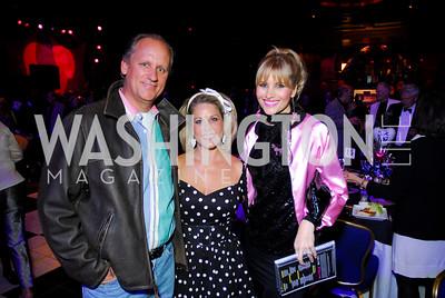 Bill & Susan Burch, Ashley Taylor, Photo by Kyle Samperton