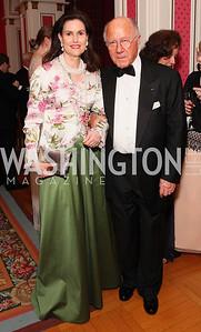 Alexandra Borchgrave, Renaud Borchgrave, Photo by Tony Powell