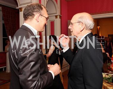 Roland Celette, Stephen Breyer,  Photo by Tony Powell