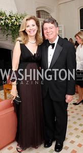 Jane Cafritz, Calvin Cafritz,  Photo by Tony Powell