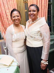 Deborah Willis, Cheryl Deberry,  Photo by Tony Powell