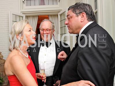 Nina Pillsbury, Philip Pillsbury, Mark Weinstein,  Photo by Tony Powell