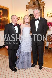 Marc Leland, Jacqueline Leland, Pierre Vimont,  Photo by Tony Powell