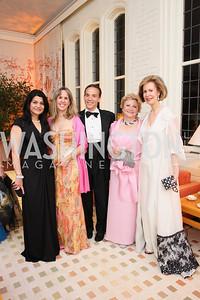 Shamim Jawad, Isabel Ernst, Ricardo Ernst, Mary Mochary, Bonnie Mcelveen Hunter,  Photo by Tony Powell