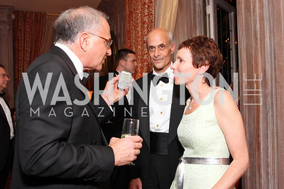 Michael Sonnenreich, Meryl Chertoff,  Photo by Tony Powell