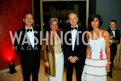 Samuel Alito, Martha Ann Alito, Giovanni Castellaneta, Leila Castellaneta. Photo by Kyle Samperton.