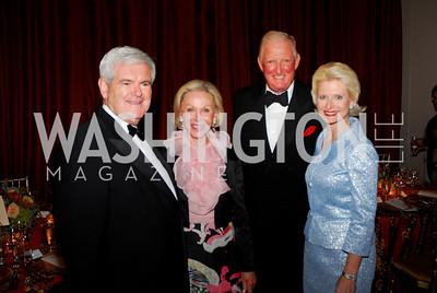 Newt Gingrich, Marion Rosenthal, Robert Rosenthal, Callista Gingrich. Photo by Kyle Samperton.