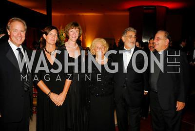Thomas Liljenquist, Marie Fumich, Placido Domingo, Philip Rosato. Photo by Kyle Samperton.