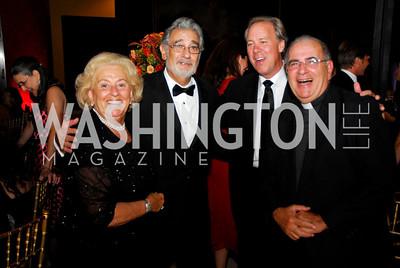 Marie Fumich, Placido Domingo, Thomas Liljenquist, Philip Rosato. Photo by Kyle Samperton.