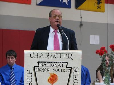 '08 Cardinal National Honor Society Induction