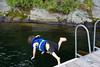 Jonah diving
