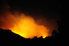 10-14-08, FIRE - Porter Ranch, PART 1, early morning :