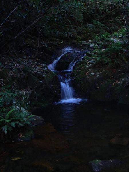 Falls near Garde's Battery
