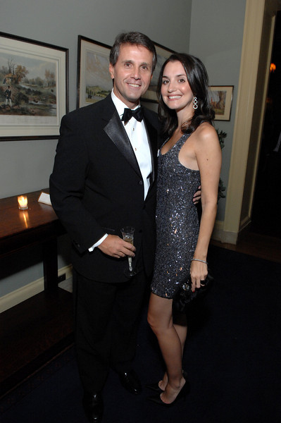 NEW YORK-OCTOBER 4: Thomas Seaman, Jackie Giusti attend 11th Annual October Ball to Support The Catholic Big Sisters & Big Brothers of New York at The Racquet & Tennis Club, 370 Park Avenue, New York City on Saturday, October 4, 2008 (Photo Credit: Christopher London/ManhattanSociety.com)