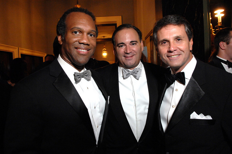 NEW YORK-OCTOBER 4:  Kevin Davis, John Nicholas, Thomas Seaman attend 11th Annual October Ball to Support The Catholic Big Sisters & Big Brothers of New York at The Racquet & Tennis Club, 370 Park Avenue, New York City on Saturday, October 4, 2008 (Photo Credit: Christopher London/ManhattanSociety.com)