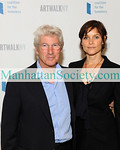 Richard Gere, Carey Lowell, attend the 14th Annual ARTWALK NY at the Metropolitan Pavilion on November 3, 2008 in New York City.