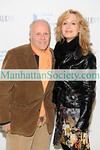 Supporter Henry Buhl, Linda Argila, attend the 14th Annual ARTWALK NY at the Metropolitan Pavilion on November 3, 2008 in New York City