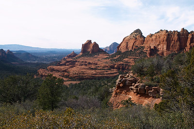 Offroading in Sedona, AZ affords you some pretty nice vantage points