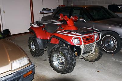My new 2002 Kawasaki Prairie 650 4x4
