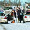Citizen photo by Brent Braaten The scene of a police shooting on Blume Road Sunday.