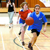 Citizen photo by Brent Braaten Cheyenne Langley, from Fotthills Elementary, Jessica Erikson, Van Bien Elementary and about 200 other Grade 6 and 7 students from seven elementary schools took part in the third annual Lakewood Junior Secondary Basketball Play Day on Thursday. The Lakewood Lakers junior A girls team, who were coming off back-to-back tournament wins, provided the refereeing. When not on the courts, teams were baking cookies, making posters and creating flash animations in the info tech lab. The event also gave staff a chance to meet some of the incoming students they will see in Grades 8, 9, and 10.