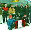 Citizen photo by David Mah Allan Ramsay, left, Patrick Williams, Debbie Dyck, Ted Moffat, Helge Ruchelski, Maria Stancati-Ens, Mark Scott, Kolton Dyck, left, 9, and Braeden Dyck, 11, show the snowblower Debbie won in the Clear the Way Contest.