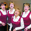 Citizen photo by Brent Braaten BeezNeez Quartet, left to right Kathy Pereira, Barb Humphreys, Marylyn Johnson and Sam Isabelle, are available to sing a beutiful love song for your special valentine on February 14th. They will travel to homes,offices, mills or anywhere within Prince George City Limits to sing. Besides the song thay will also give a gift of  a flower and chocolates. To book call 564-9130.