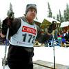 Citizen photo by Brent Braaten Kenneth Sharp finishes the ski.