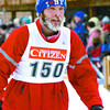 Citizen photo by Brent Braaten Ian Picketts comes into the transition after the ski.