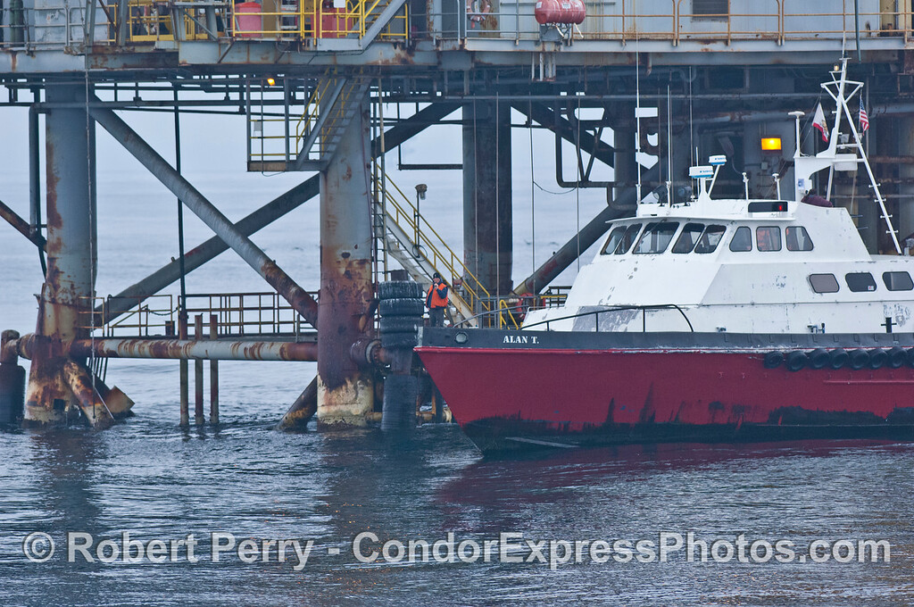 vessel Alan T crew boat Platform Habitat 2008 03-19 SB Channel -- 045