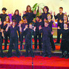 Citizen photo by David Mah The Cedars Christian School Senior Choristers were one of 5 entries in the School Choirs Aged 12 and Under category in the 57th Annual Prince George and District Music Festival at Our Saviours Lutheran Church Friday.