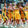 Citizen photo by David Mah UNBC Timberwolves win Provincial Championship.