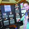 Citizen photo by Brent Braaten Gabrielle Jacob, 10, a Spruceland elementary student plays her preactice violin she built. Her invention was an inexpensive practice violin.