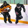 Citizen photo by David Mah Amber Biebrick, left, of Team Manitoba Tweens chases Jessica MacDonald of the Host Team.