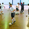 Citizen photo by Brent Braaten The Prince George F.C gets practice in Thursday evening at the Roll-a-dome.