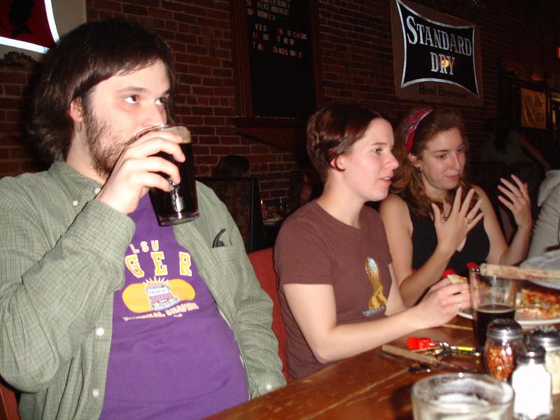 Barley's with Zach, Kate, Ariel...
