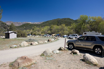Rose Valey campsite is *PACKED*