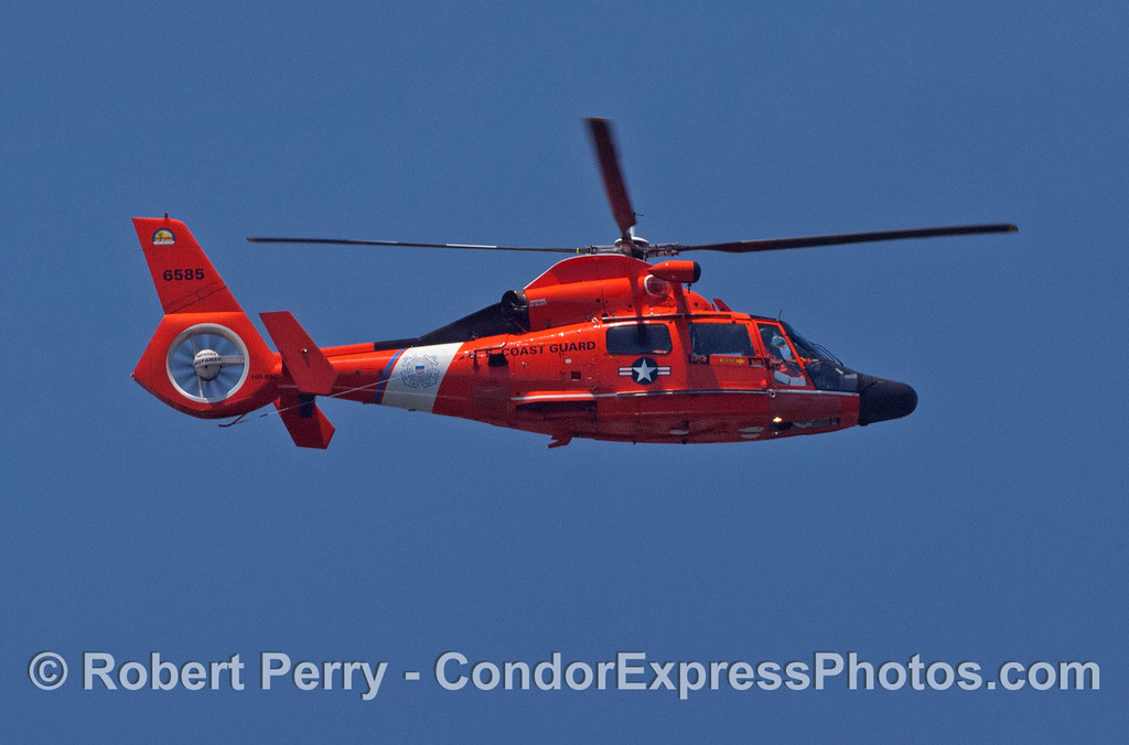 Coast Guard helicopter in flight 2008 06-23 SB Channel--112