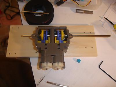 Extending the axles