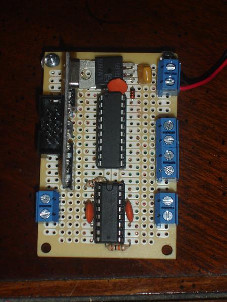 Circuit board top side