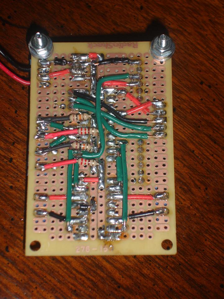 Circuit board bottom side