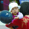 Citizen photo by David Mah Eight-month-old Michelle Luo had more fun tugging at her balloon than making art at the BMO Kidz Art Dayz Saturday. The event was held at the Two Rivers Art Gallery and Civic Centre Plaza.