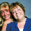 Citizen photo by Brent Braaten Kathy coates, left, who donated a kidney to Brenda Hansen.
