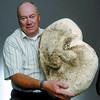 Citizen photo by Brent Braaten Fred Gorley with 7.49 kilo mushroom found near Ness Lake.