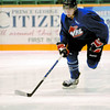 Citizen photo by Brent Braaten Brian Matte skates during Cougar practice wednesday at CN Centre.