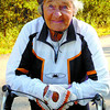 Citizen photo by David Mah Olwyn Ringheim, 80, from Nelson, competed in the Seniors Games Road Race. She will turn 81 on September 15.
